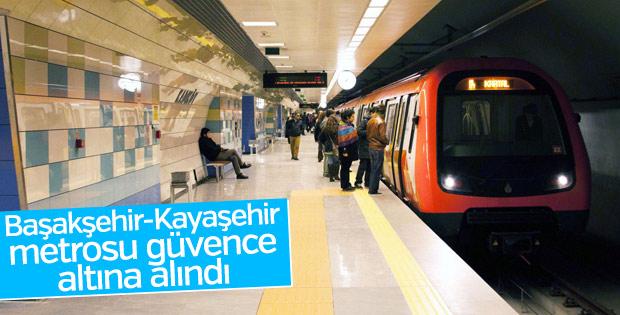 Başakşehir-Kayaşehir metrosu güvence altında