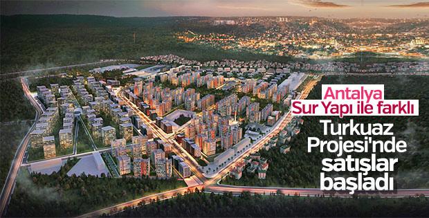 Sur Yapı'nın Antalya'daki projesinin 2'nci etabı satışta