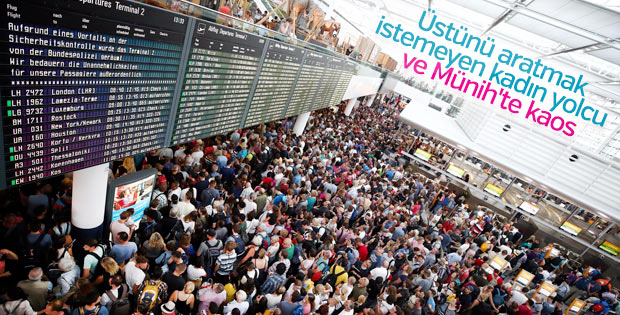 Münih Havalimanı'nda güvenlik alarmı