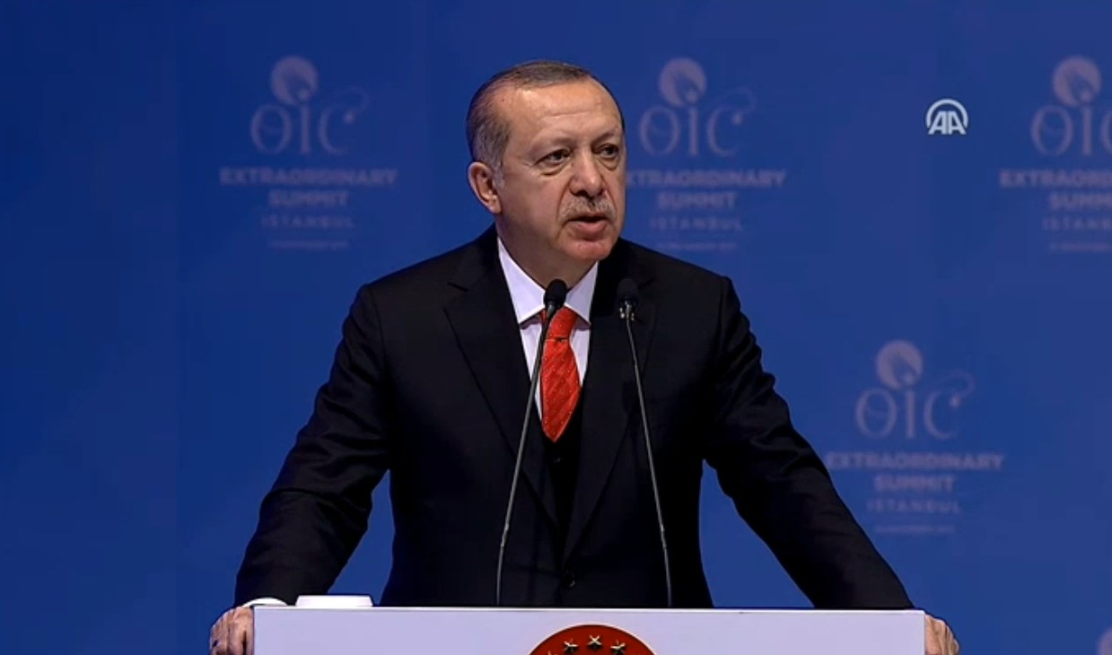 Recognise Jerusalem as capital of Palestine: Erdogan