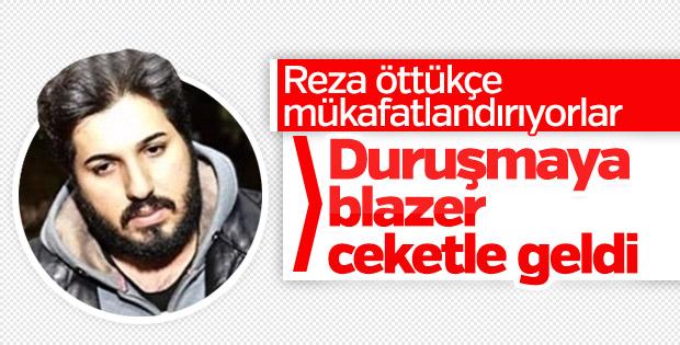 Reza Zarrab, bugünkü duruşmaya ceketle katıldı