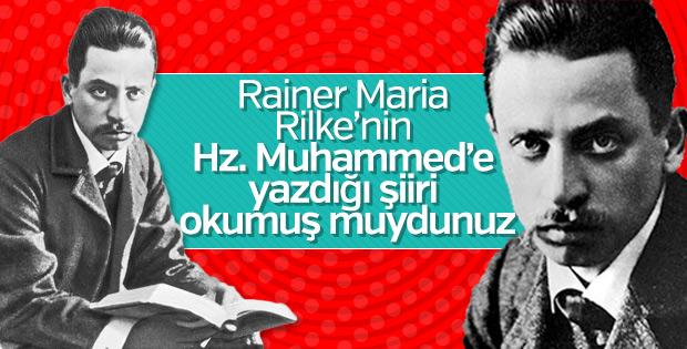 Alman Şair Rilke'nin Hz. Muhammed'e yazdığı şiir