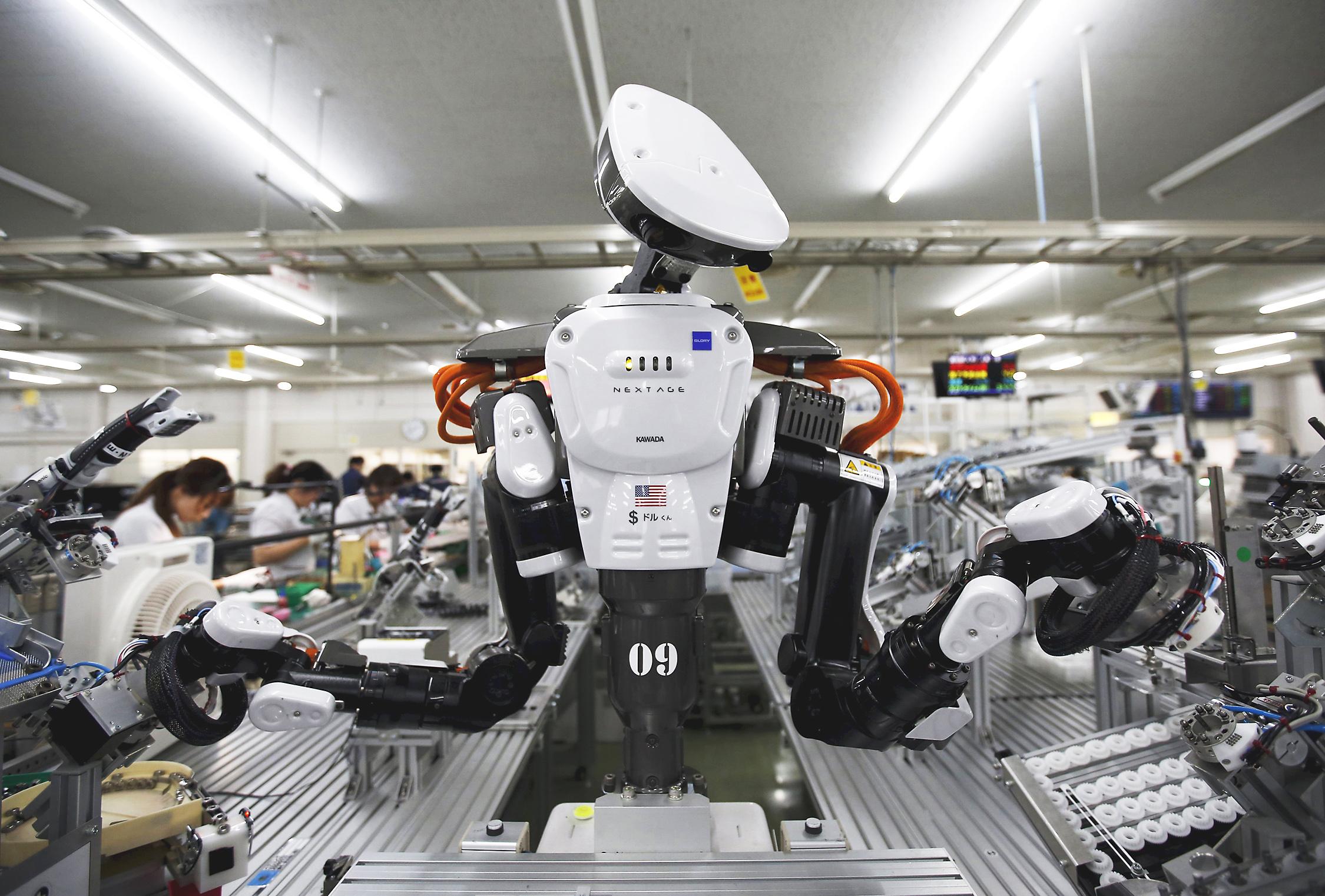 Robotlar yüzünden 800 milyon kişi işsiz kalacak