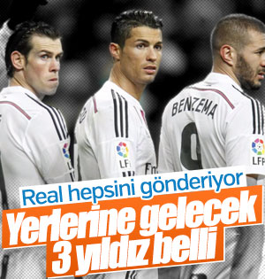 Real Madrid'in dev transfer planı