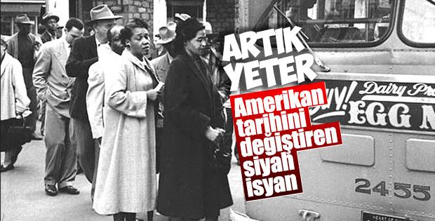 Siyahilerin kaderini değiştiren kadın: Rosa Parks