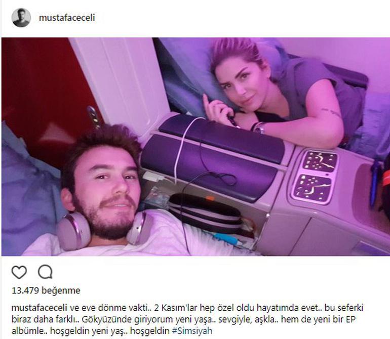 Mustafa Ceceli: Yeni yaşıma gökyüzünde giriyorum