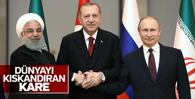 Türkiye - Rusya - İran Üçlü Zirvesi
