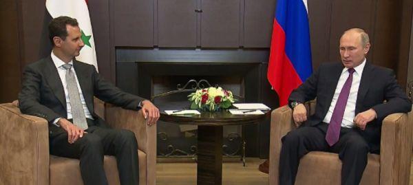 Putin, Esad'ı Soçi'de ağırladı