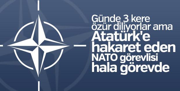NATO skandalının müsebbiplerinden biri hâlâ görevde