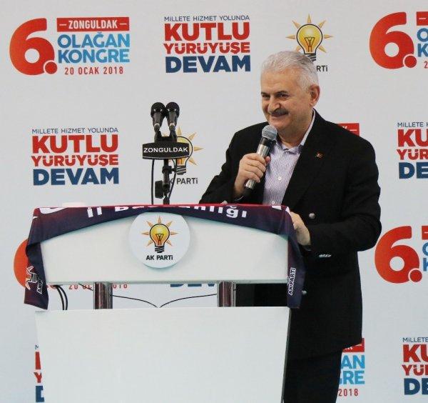 Başbakan Yıldırım, Zonguldak'ta