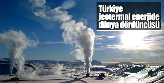 Türkiye jeotermal enerjide dünya dördüncüsü oldu