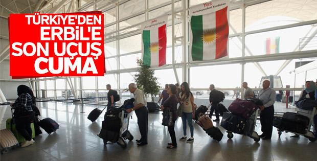 Türkiye-Kuzey Irak arası uçuşlar son buluyor