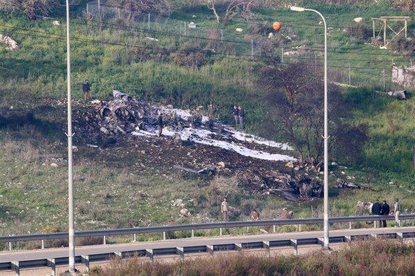 Esad rejimi, İsrail jetini düşürdü