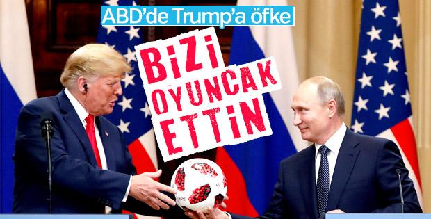 Trump'ın Rusya açıklamaları ABD'de tepki çekti