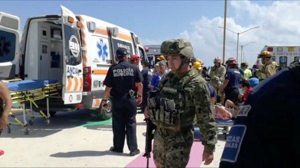 Meksika'da feribot patlaması: 25 yaralı