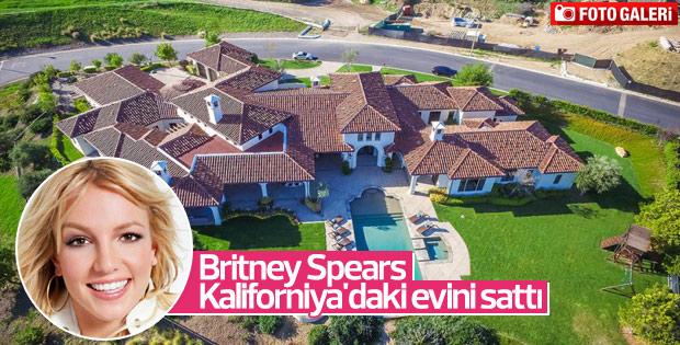 Britney Spears Kaliforniya'daki evini sattı