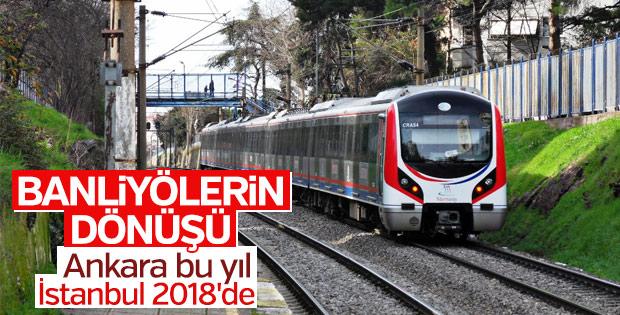 İstanbul ve Ankara'da banliyö hatları geri dönüyor