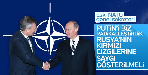 Eski NATO Genel Sekreteri: Putin'i biz radikalleştirdik