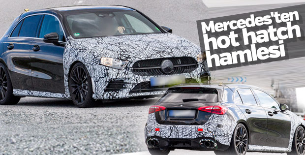 Mercedes'ten yeni hot hatch