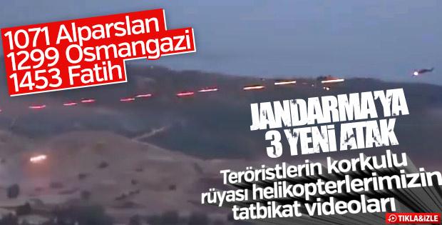Jandarma, 3 Atak helikopteriyle gücüne güç kattı