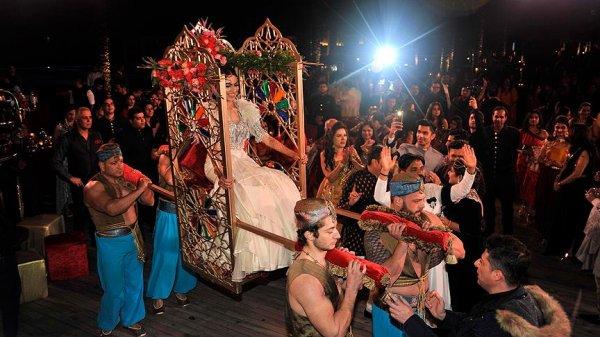 Antalya'da Hint düğünü sezonu başladı