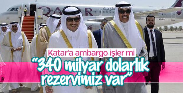 Katar ablukaya meydan okuyor