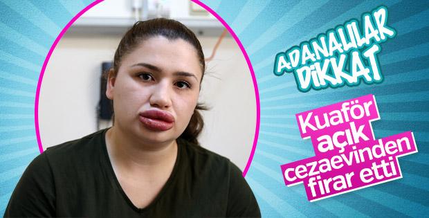 Adana'da estetikçi kuaför firar etti