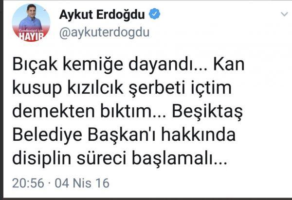 Aykut Erdoğdu'nun Murat Hazinedar fikri değişti