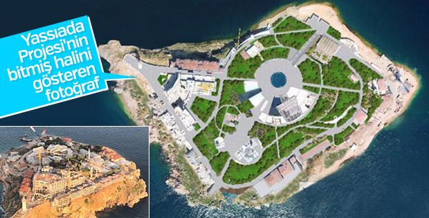 Yassıada projesi bitince ada ağaçsız kalmayacak