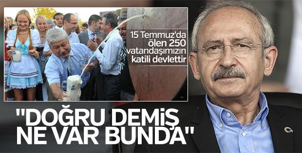 CHP Mustafa Akaydın için işlem başlatmayacak