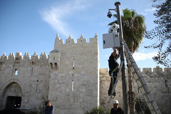 İsrail 'casus kameralar' yerleştirdi