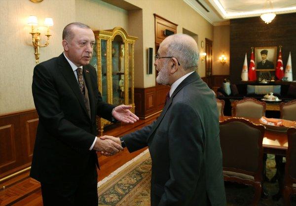 Erdoğan Karamollaoğlu ile görüştü
