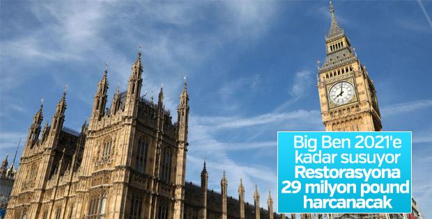 Londra'nın simgesi Big Ben restore ediliyor
