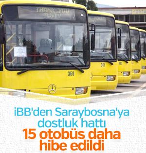 Bosna Hersek'in toplu ulaşımına Türkiye desteği sürüyor