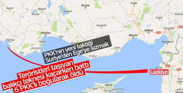 PKK'nın yeni taktiği: 6 terörist boğuldu