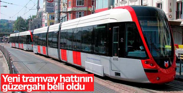 Yeni tramvay hattının güzergahı belli oldu