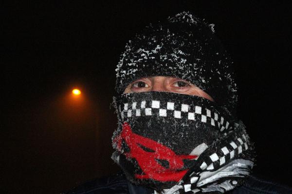 Ardahan'da sıcaklık eksi 20'yi gördü