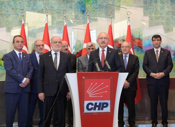 Temel Karamollaoğlu CHP Genel Merkezi'nde
