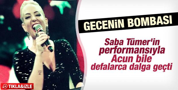 Saba Tümer'in O Ses Türkiye performansı