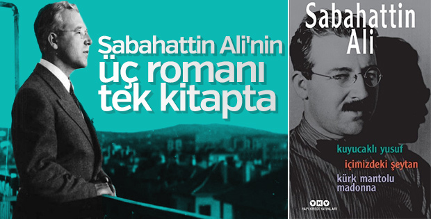 Sabahattin Ali'nin üç romanı bir arada