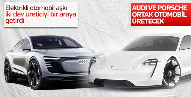 Audi ve Porsche birlikte elektrikli otomobil yapacak