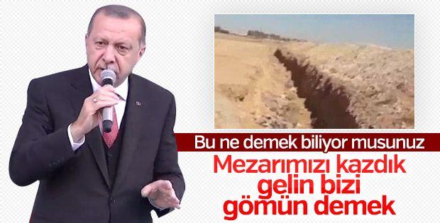 Başkan Erdoğan: Terör örgütü en büyük darbeyi yedi