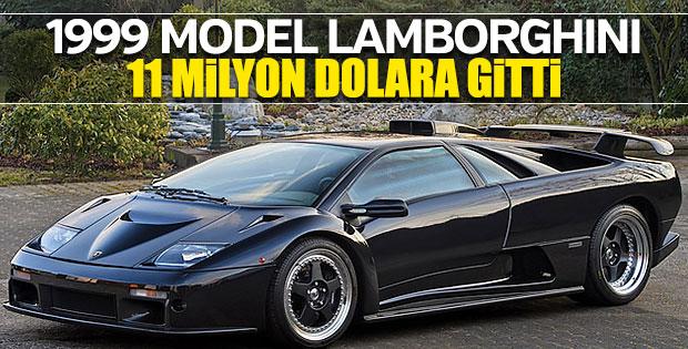 1999 model Lamborghini 11 milyon dolara satıldı