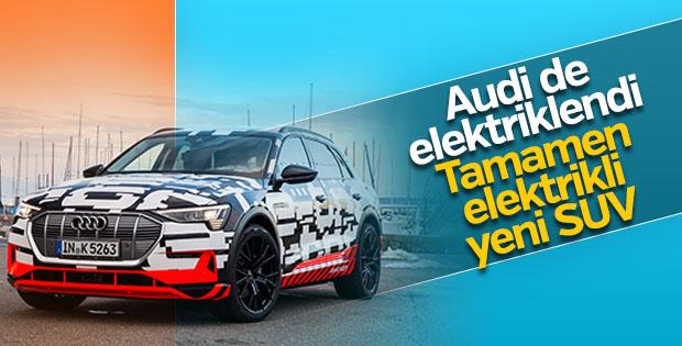 Audi'den tamamen elektrikli SUV