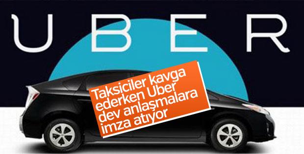 Uber ve Toyota anlaşmaya vardı