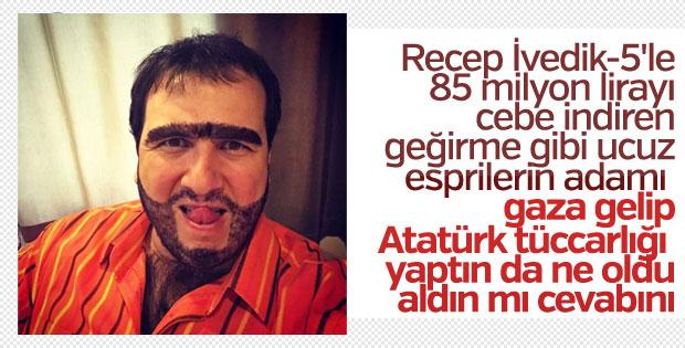 Şahan Gökbakar'ın Atatürk paylaşımı