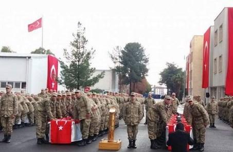 Jandarma binbaşıdan yemin töreninde Dua şiiri