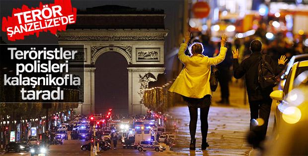 Fransa'da polise kalaşnikoflu saldırı