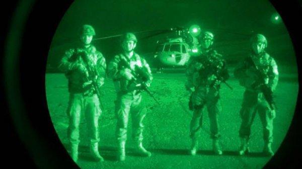 SAT ve SAS komandoları Afrin'de