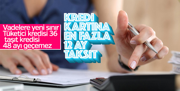 BDDK tüketici kredilerine yeni düzenlemeyi açıkladı